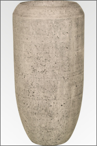 Bari Vase in grauer Betonstein Optik Ø50 x 100 cm