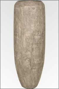 Bari Vase in grauer Betonstein Optik Ø54 x 149 cm